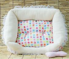 Pretty Candy Soft Pet Dog Cat Bed House Small Blue