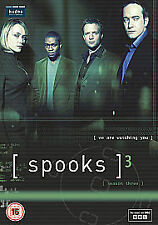 SPOOKS - Series 3 SEASON Three Complete 2011 DVD - Box Set FAST POST
