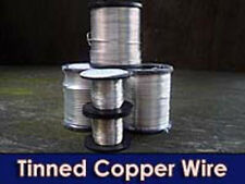 Tinned Copper Wire 25SWG 24 awg  0.5mm 15 AMP 10 meter coil - fuse wire bs4109