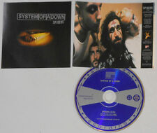 System Of A Down - Spiders - 1998 Promo CD Single
