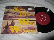 """Silent Night Germany Stille Nacht Weike Weihnacht NM Kneifel Rare 7"""" Record 45"""