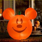 Disney Halloween Pumpkin Mickey Mouse Airblown Inflatable Lawn Décor MIB
