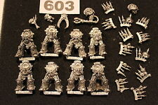 Games Workshop WARHAMMER 40k Space Marine del Caos terminazioni JOB LOTTO esercito in metallo