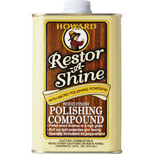 Howard Products Restor-A-Shine Wood Finish Polishing Compound - 473ml