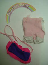 Vtg Hasbro 80s MLP G1 My LIttle Pony Wear Outfit Clothes SWEET DREAMS ++