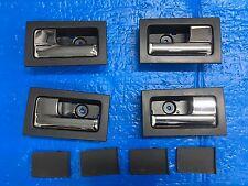 2009 2010 2011 2012 2013 2014 FORD F150 Inside Door Handle Black & Chrome Set 4