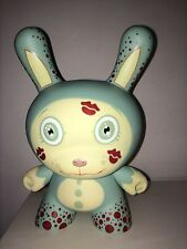 "DUNNY 8"" SIGNED BLUE BUBBLE YUCKY TARA MCPHERSON KIDROBOT DESIGNER TOY FIGURE"