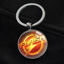 Keychains The Flash Superhero Keyring Key Ring Chain Bag Charm Pendant Gift