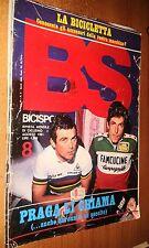 BS - BICISPORT 1981 #  8 AGOSTO - RIVISTA MENSILE DI CICLISMO - PRAGA LI CHIAMA