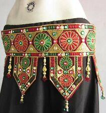 Tribal Fusion Belt | Belly dance Costume Skirt Dress Waist Jewelry Kuchi Banjara
