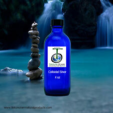 Colloidal  Silver * 4oz *  .008 microns  20+ppm* The Best Ionic Silver Solution