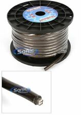 StreetWires ZN3-4100BLK 100 Ft of Zero Noise 4 AWG Gauge Power Cable