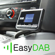 DAB+ Universal Plug-and-Play DAB Radio Adapter for 12v/24v Cars/Trucks Prodab+
