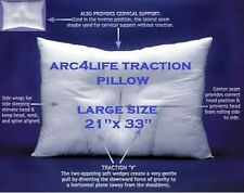 "Arc4life Chiropractic Cervical Linear Traction Neck Pillow LRG SIZE 28""x17""+ DC"