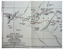 1882 O'Neill - MAKUA COUNTRY - LOMWE - Mozambique - WITH EXPEDITION MAP - 4