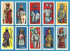 cigarette/trade cards Cadet - ARMS AND ARMOUR - Full mint condition set