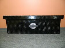 New OEM Ford Truck Black Harley Davidson Diamond Plate Front Box Protector