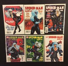 SPIDER-MAN BLACK CAT #1 - 6 Comic Books EVIL THAT MEN DO Full DODSON Kevin Smith