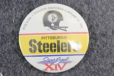 Vintage 1980 Super Bowl XIV Pittsburgh Steelers Pin Football NFL