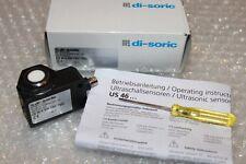 di-soric Ultraschall Sensor Typ US 46 K 500 PSK-TSSL 120...500mm, PNP NEU