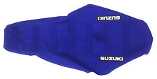 "New ""Suzuki"" Blue Ribbed Seat cover DR-Z400E DR-Z400S DR-Z400SM 2000-2012"