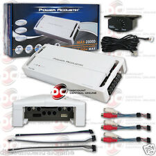 POWER ACOUSTIK CAR BOAT MARINE AUDIO 5-CHANNEL AMPLIFIER 2500W MAX AMP