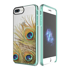 "Prodigee Show Peacock Clear iPhone 7 Plus 5.5"" Clear 2 Piece Case Thin Cover"