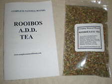 ROOIBOS HERBAL Anxiety TEA boost concentration relaxing herbal organic ADD 4oz