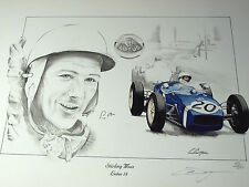 Stirling MOSS OMAGGIO Rob Walker LOTUS 18 MONACO GRAND PRIX 1961 Stirling Moss