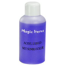 100ML ACRYL LIQUID MIT SUN BLOCKER VIOLETT