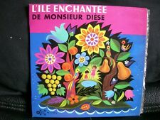 VINYL 45 T – ENFANT CHANSON CONTE – WINS & GUILLOT : ILE ENCHANTEE DE MR DIESE