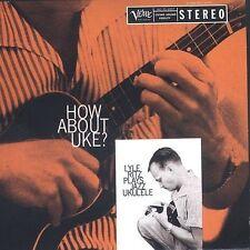 LYLE RITZ - How About Uke? - Jazz Ukulele CD vg