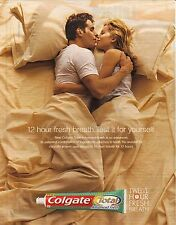 2003 Colgate Total Advanced Fresh Toothpaste Advertisement