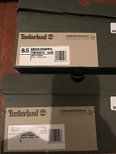 Authentic Real Timberland 6 Inch Premium Boots - Black Nubuck Size 8.5 NoGradeB
