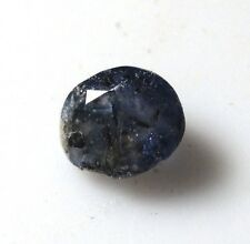 Badly faceted 0.48 ct Benitoite gemstone - California cut gem stone