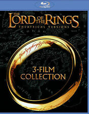 Lord of the Rings: Original Theatrical Trilogy [Blu-ray], New DVDs