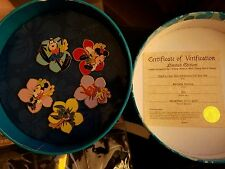 DCL Stitch's High Sea Adventure - Flower Pin Lei - 5 Pin Boxed Set (Gift) LE 500