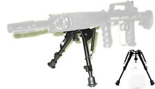 "Tactical 5 level 9""-13"" Adjustable Spring Return Sniper Hunting Rifle Bipod USA"