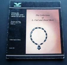 Skinner Auction Catalog Oct 1980 Jewelry Watches Art Collection of C & H Bean