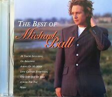 Eurovision UNITED KINGDOM 1992 MICHAEL BALL-20 track CD inc 4 songs from ASFE 92
