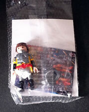 PLAYMOBIL   PERSONNAGE  QUICK  KNIGHT YELLGREY  CHEVALIER       ( neuf )