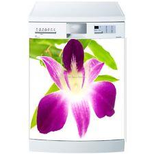 Magnet lave vaisselle Orchidée 60x60cm réf 577 577