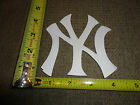 NEW YORK YANKEES JERSEY PATCH 4 INCHES TALL 4 INCHES WIDE SWEET