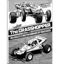 INSTRUCTIONS BUILD MANUAL  Grasshopper Kit 58043 & 58346 RC Buggy Tamiya 1050428
