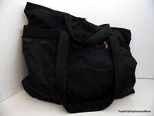 LeSportSac Large BLACK TOTE Travel Shopping Baby Weekender