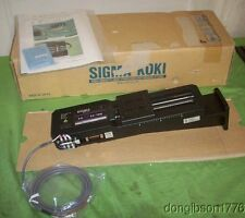 "Sigma Koki Motorized Stage SGSP 33-100  NEW  Linear Motion  (5"" of Travel)"