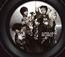 SUPER JUNIOR 5th Album [Mr.Simple] (Type B) Digipak CD + Booklet Sealed Music CD
