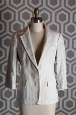 NWT Boy by Band of Outsiders School Boy Blazer Linen Striped 3 $1000