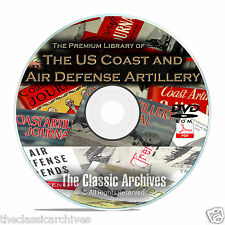 Coast Artillery Journal, Anti Aircraft Air Defense Trends 385 Issues Set DVD B68