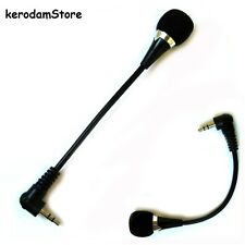 Flexible 3.5mm Jack Microphone Speaker mini Mic PC Laptop Notebook Desktop skype